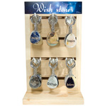 Wish Keychain Counter Display - Assorted (48/display)