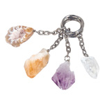 Mineral Keychains - Assorted (12)