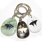 Totem Stone Keychain - Butterfly (6)