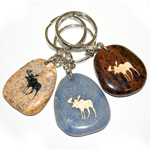 Totem Animal Keychains and Magnets