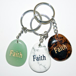 Wish Stone Keychains - Faith (6)