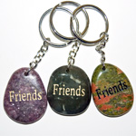 Wish Stone Keychains - Friends (6)