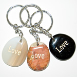 Wish Stone Keychains - Love (6)