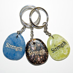 Wish Stone Keychains - Strength (6)