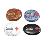 Canada Stone Magnets - Assorted (12)