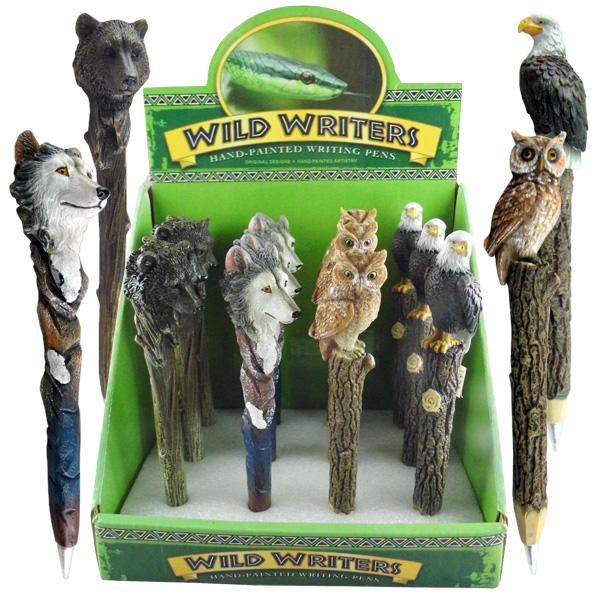 Wild Writers Pen Display | Wholesale Animal Pens Canada