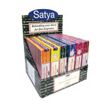 Satya Incense Sticks Display - Assorted (72/display)