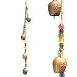Rustic Bell - Flower Gola Chimes (Copper Colour)