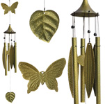 Leaf Wind Chimes - Butterfly