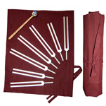 Chakra Tuning Fork Set - 7 pieces