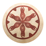 Tribal Frame Drum - Goddess
