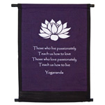 Mini Banner - Lotus Yogananda