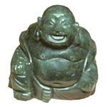 Laughing Buddha (2 inch) - Canadian Jade