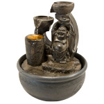 Zenature Fountain - Happy Buddha Light Fountain 5% OFF