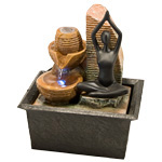 Zenature Fountain - Yoga Light Fountain