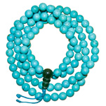 Japa Mala (Prayer Beads) - Tibetan Turquoise