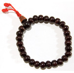 Japa Mala Bracelet (Prayer Beads) - Rosewood