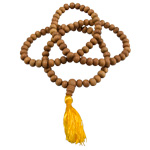 Japa Mala (Prayer Beads) - Sandalwood 8 mm