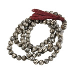 Japa Mala (Prayer Beads) - Om Mani Padme Hum (8 mm)