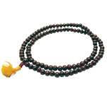 Japa Mala Necklace - Rosewood