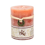Elemental Pillar Candles - Cinnamon / Fire (2)