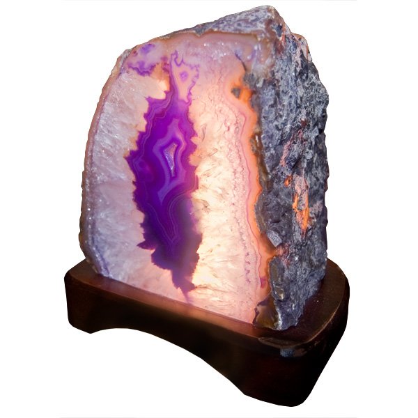Purple Agate Lamps Canada I Wholesale Gifts And Souvenirs
