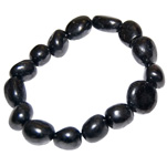 Gemstone Nugget Bracelet - Shungite