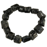 Black Tourmaline Bracelet -  Rough / Natural