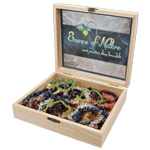 Gemstone Chip Bracelet Display Box - Assorted (37)