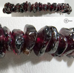Gemstone Chip Bracelet - Garnet (3)