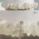 Gemstone Chip Bracelet - Moonstone (3)