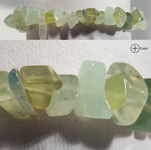 Gemstone Chip Bracelet - New Jade (Serpentine) (3)