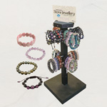Gemstone Bracelet Display (pre-pack) (52/Display)