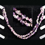 Gemstone Chip Necklace (36 inch) - Fluorite