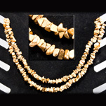 Gemstone Chip Necklace (36 inch) - Picture Jasper