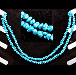 Gemstone Chip Necklace (36 inch) - Turquoise
