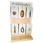 Pendant Display - Gemstones (pre-pack) (24/Display)