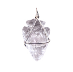 Arrowhead Pendants - Clear Quartz (3)