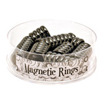 Magnetic Hematite Ring Display (48/display)