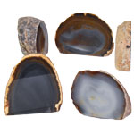 Agate Decorative Stand-ups - Thick - Natural