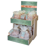 Himalayan Bath Bliss Salt 2 Tier Display (pre-pack)