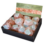 Himalayan Salt Bar Display - Heart Shaped (18/display)