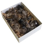 Boxed Crystal Clusters - Smokey Quartz