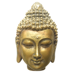 Trinket Box - Buddha Head - Metallic  (2)