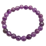 Gemstone Faceted Bead Bracelets - Amethyst
