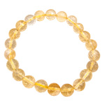 Gemstone Faceted Bead Bracelets - Citrine