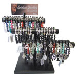 Spiritual Jewellery Bracelet Display - 3 Tier (36/Display)
