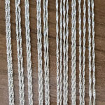 Necklace Chain - Twist (18 inch) Silver Plated (10)