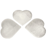 Selenite Charging Plate - Heart