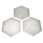 Selenite Charging Plate - Hexagon